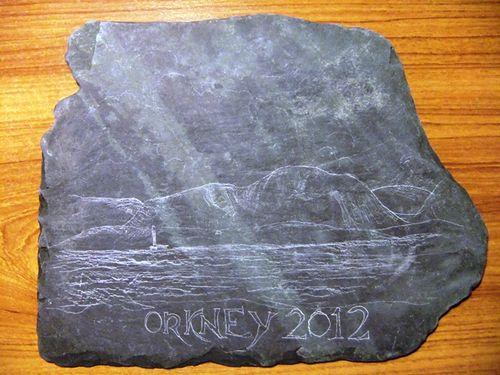 Orkney 2012 slate