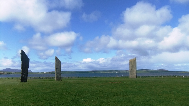 Orkney 2012 stenness + stones + sea