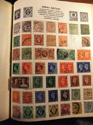 The stamp album