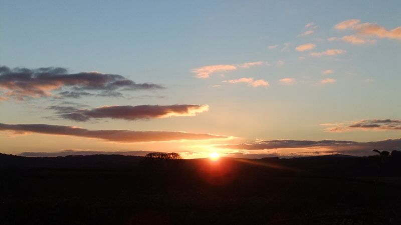 Lan sunset