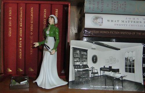 Jane Austen corner