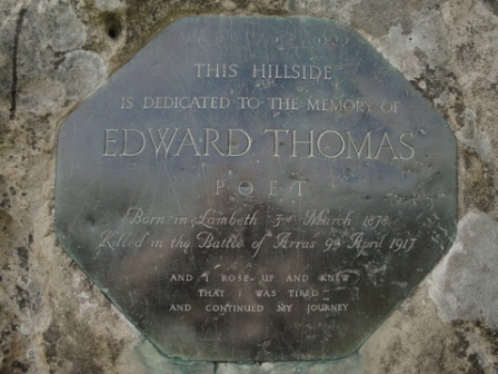Edward thomas mem stone