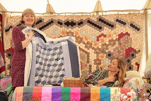 Port Eliot ~ Tracy Chevalier at the dovegreyreader tent