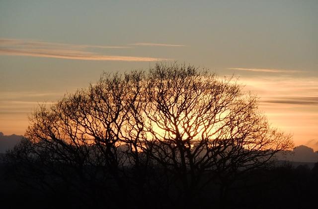 Sunset February 2013