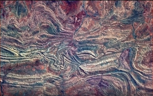 The Outback from ISS copyright Cdr Chris Hadfield