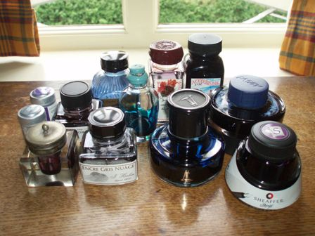 Ink stash