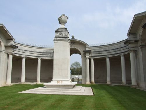 The war memorial, Arras