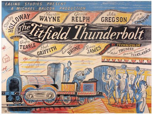 The Titfield Thunderbolt ~ Edward Bawden