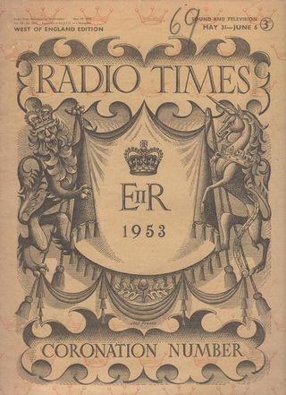 Radio Times - Coronation Edition
