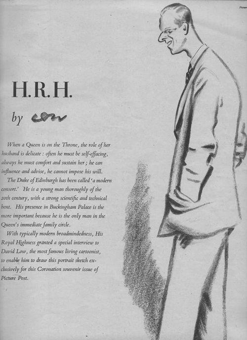 H.R.H. The Duke of Edinburgh ~ 1953 -Picture Post