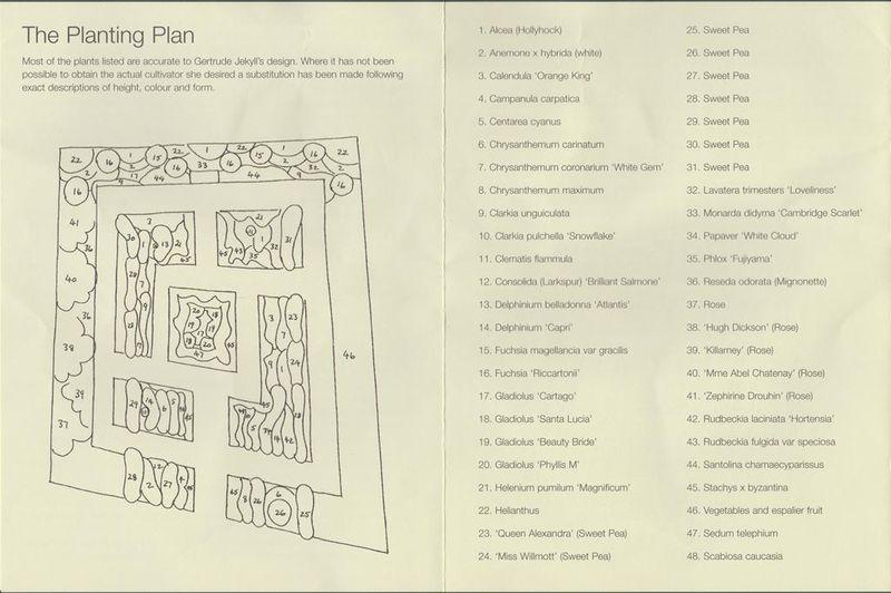 Lindisfarne planting plan