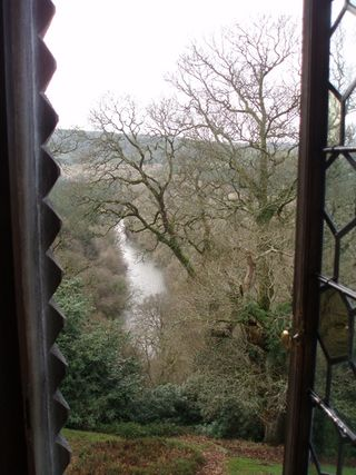 The view of the Tamar from Swiss Cottage, Endsleigh
