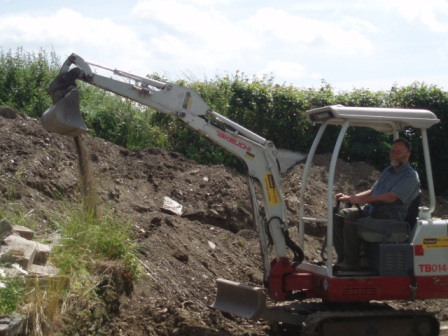Building digger