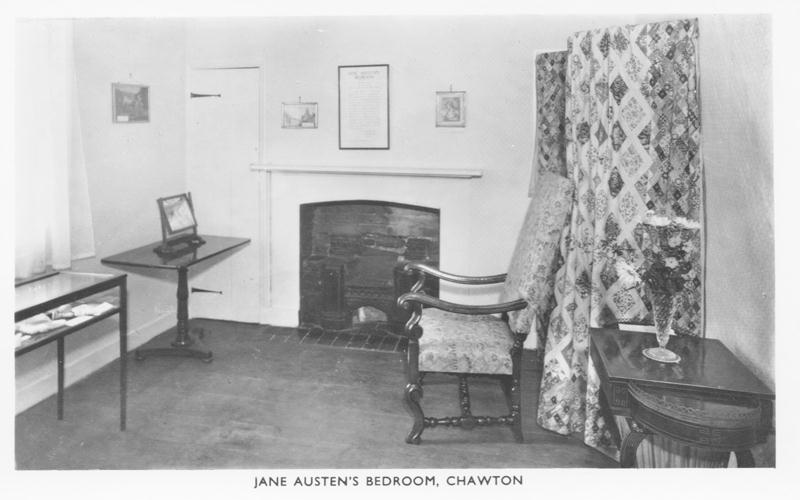 Jane Austen 's bedroom
