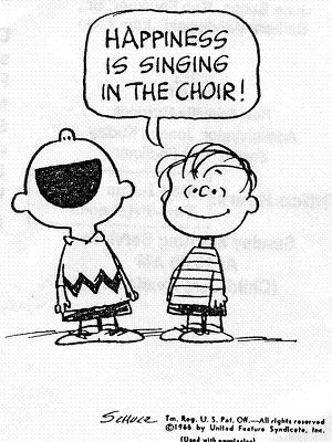 Cartoon-choir