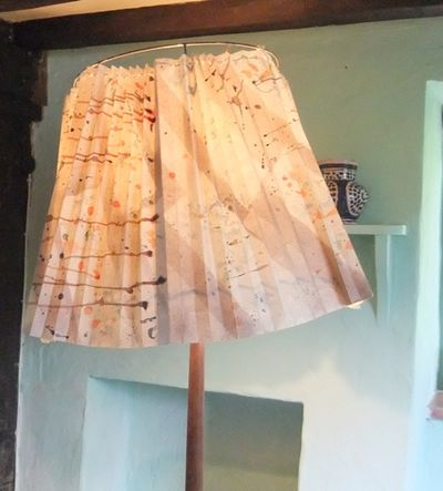 Virginia Woolf's lampshade...