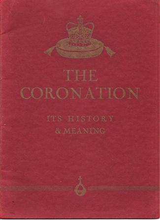 Coronation book