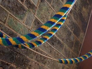 Milton Abbot bell ropes