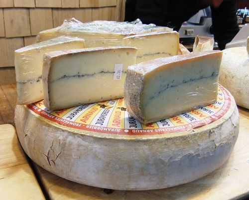 Borough Market ~ Cheese (Morbier)