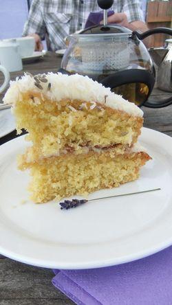 Lavender farm cake