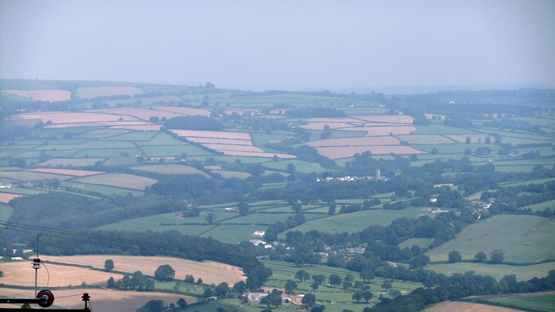 The view of home from Kit Hill