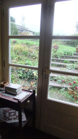 The French windows