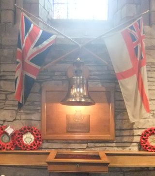 Royal Oak Memorial, St Magnus Cathedral, Kirkwall