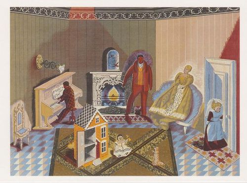 The Dolls at Home ~ Edward Bawden