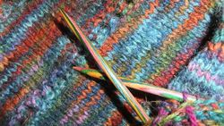 Waulkmill Hap and needles...