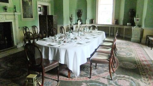 Saltram, the dining room