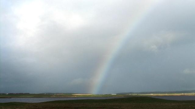 Orkney rainbow..