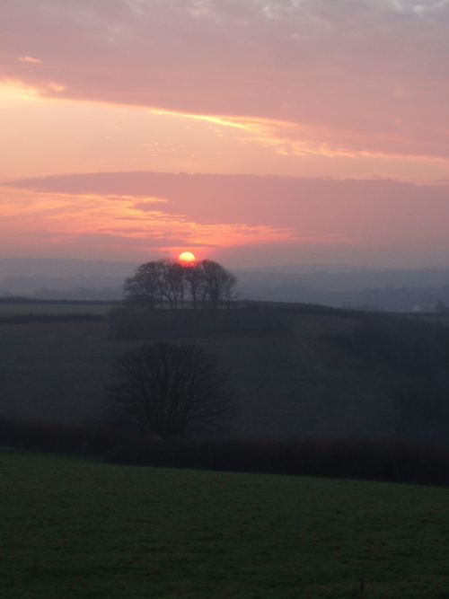 Sunset on the Shortest Day