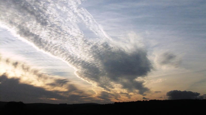 Angel Wings over the Tamar Valley ~ December 2013