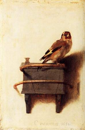 The Goldfinch ~ Fabritius