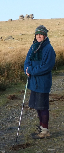 Elegant Dartmoor walking outfit...