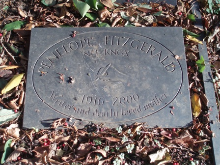 Penelope Fitzgerald's grave - Hampstead