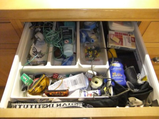 The drawer...