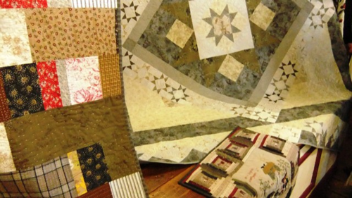 Cornish Hedges quilt