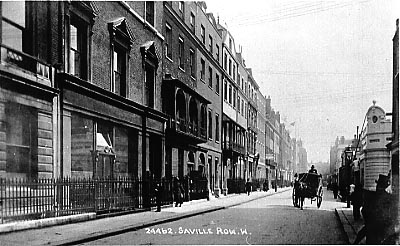 Saville Row, London