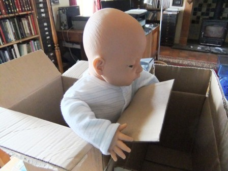 This is a DOLL not a real baby...