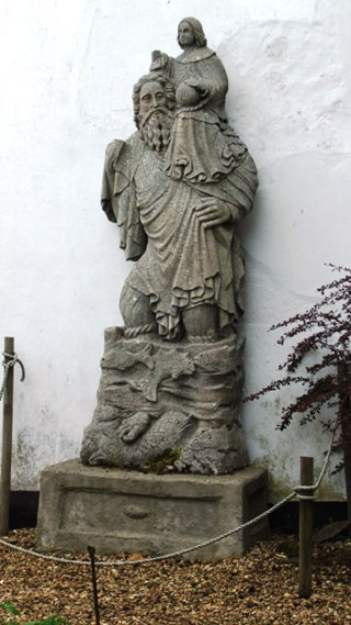 St Christopher at Green Knowe..