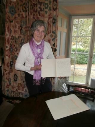 Diana Boston at 'Green Knowe'...