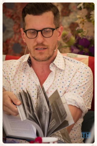 Brian Selznick at Port Eliot 2014