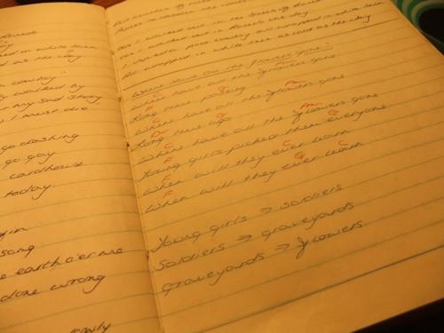 Song book ...