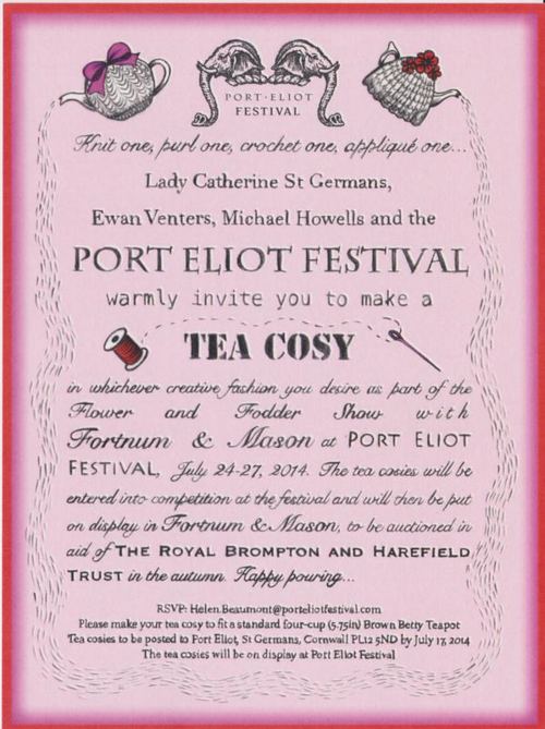 Port Eliot Tea Cosy competition