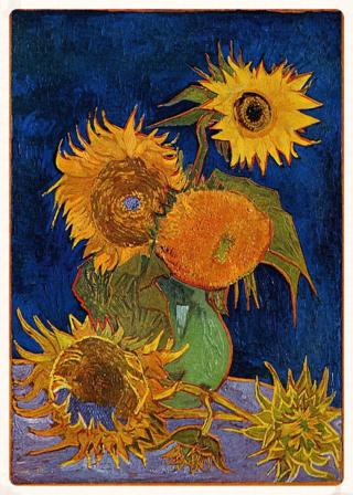 Six Sunflowers ~ Van Gogh