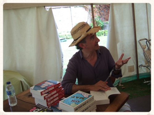 Simon Garfield ~ Port Eliot 2014