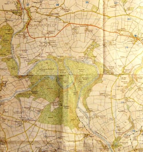 Tamar map