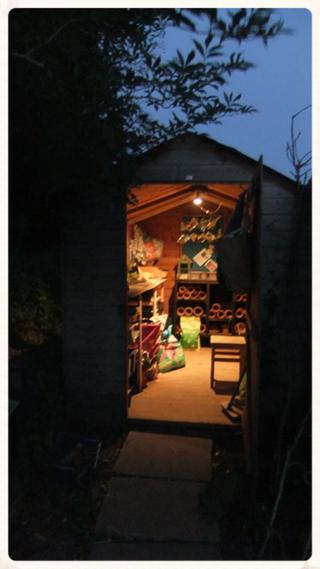dovegreyreader's shed