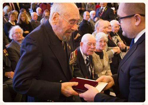 Ushakov Medal Ceremony, Exeter 19.12.14